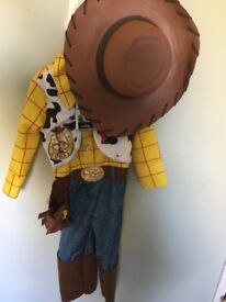 Disney Toy Story Woody dressing up outfit 3-4 years