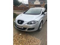 SEAT LEAON 2008 1.6 89k M.O.T august 2019 + Fr Alloys and set of 4 standard wheels with new tyres