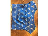 Milly blue spot top - brand new with tags