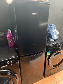 Black bush fridge freezer good working order