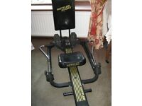 Kettler rowing machine not new but in good condition