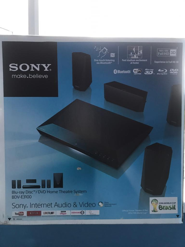 Sony surround sound (smart home theatre system) | in Chesterfield ...