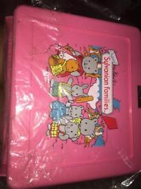 Brand new vintage Sylvanian Families lunchbox