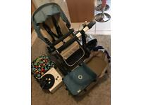 Bugaboo cameleon pushchair and carrycot set