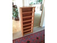 CD shelf/small bookcase.