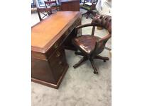 Vintage style desk and chairs