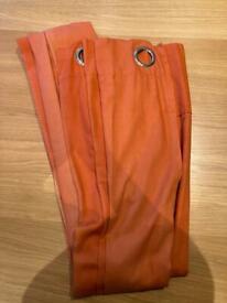 FREE orange curtains - set of 4