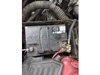 Car battery 12v good working order