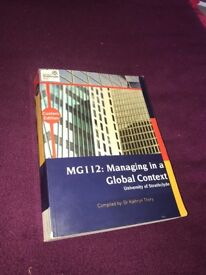 Managing in a Global Context textbook