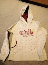 Girls Medium Animal hoody (say about 8-9yrs), from pet and smoke free home