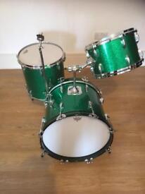Custom built Drum Kit Jazz Sizes 18/14/12