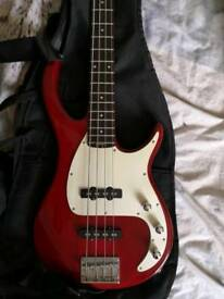 Peavey Bass Guitar and Amplifier