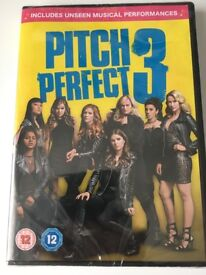 Pitch Perfect 3 DVD - BRAND NEW; STILL PACKAGED