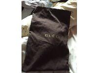 Genuine Gucci trainer bag