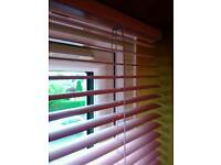 Pink Horizontal Blind Venetian Blind - Made to measure for 234.5 x 101 cm.
