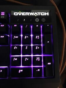 Razer black widow chroma overmatch edition.