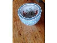 Oriental plant pot (large)