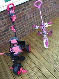 Toddler trike bike