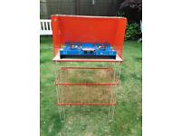 Camping 70's kitchen cooker 3 Shelf stand