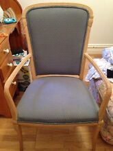 Beautiful old wooden armchair shabby chic. Forest Lodge Inner Sydney Preview