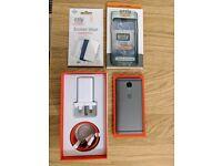 OnePlus 3T 128Gb Gunmetal (unlocked) + accessories