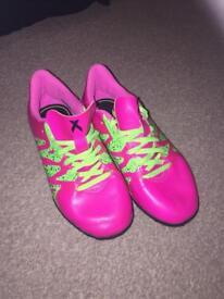 Girls Adidas football boots size 12