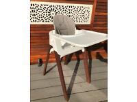 Stokke Steps Highchair Baby Set, White