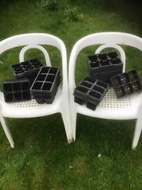 6 cell plant trays x 45