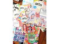 Computers arts mags