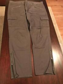 The White Company Brand new with tags size 16 khaki skinny cargo trousers.