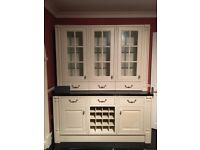 Kitchen for sale with stunning black granite worktops