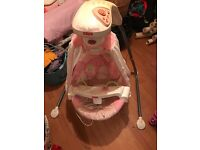 Fisher price butterfly baby swing