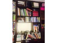 PRICE LOWERED Bookshelf storage box with doors side board TV unit walnut book case like ikea kallax
