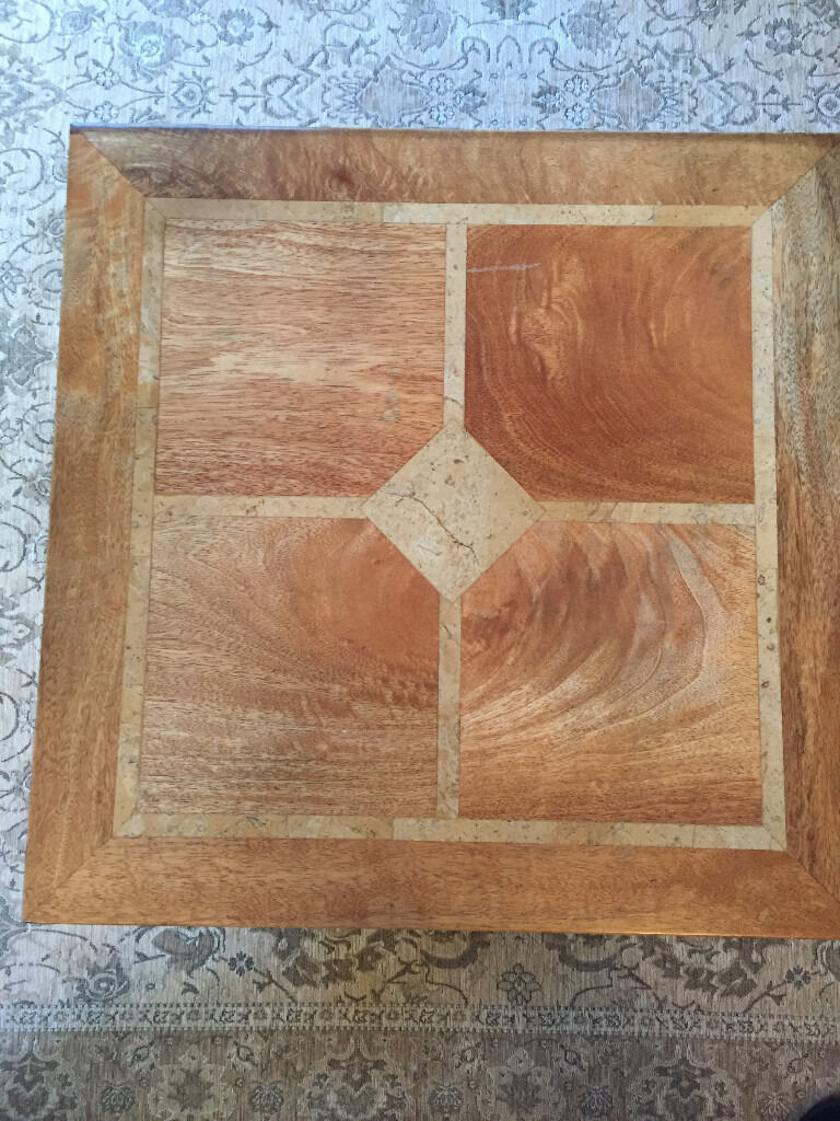 Flagstone coffee table very good condition in bournemouth flagstone coffee table very good condition geotapseo Images