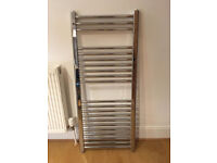 Chrome Heated Towel Radiator