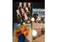 x5 Blondie vinyl records