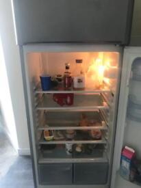 Large Indesit fridge freezer for sale