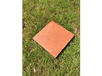 Approx 130 Quarry Tiles 150mm x150mm