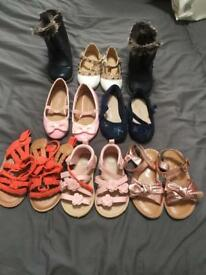 Little girls shoes bundle size 6