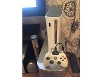 Xbox 360 console with One wireless controller