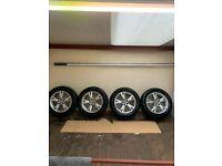 Genuine Audi Q3/ Q5 Alloys Alloy Wheels 235/55/17