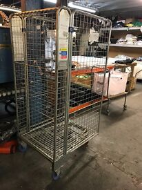 Four sided roller cage