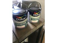 Dulux Bathroom paint (+) - Rock Salt 2.5l x 2 (can be sold individually)