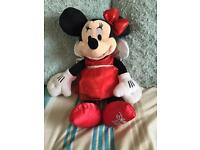 Disney Store Minnie Mouse -2012 red party dress