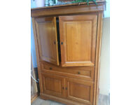 Very heavy TV/stereo cabinet