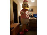 Daisy Duck full costume