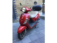 2011 Sym Fiddle 125cc - Red - £650