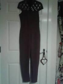Size10 purple jumpsuit.bnwt
