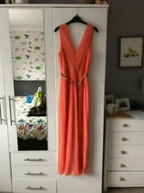 Miss Selfridge maxi dress size 12 - summer / prom / wedding