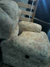 Electric recliner chair excellent order